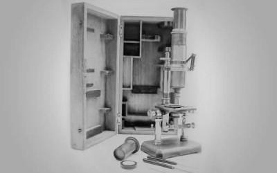 microscópio Nachet